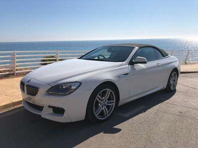 usado BMW 640 Cabriolet Serie 6 F12 Cabrio Diesel