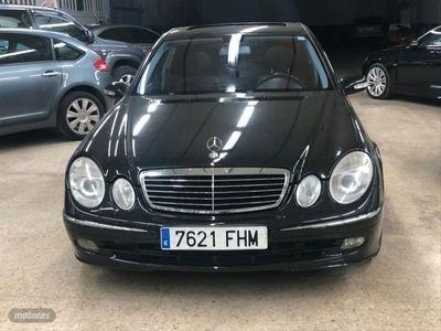 usado Mercedes E280 Clase ECDI Avantgarde