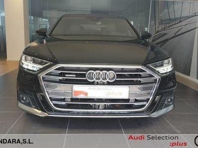 usado Audi A8 50 TDI quattro 210 kW (286 CV) tiptronic Híbrido Electro/Diesel Negro matriculado el 02/2020