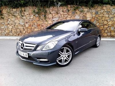 usado Mercedes E350 Clase E CoupeCdi Blue Efficiency Avantg. 2p. -12