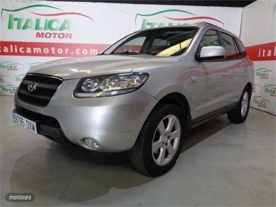 usado Hyundai Santa Fe 2.2 CRDi VGT Style Automatico 7 plazas