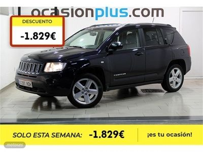 brugt Jeep Compass 2.2 CRD Limited 4x2
