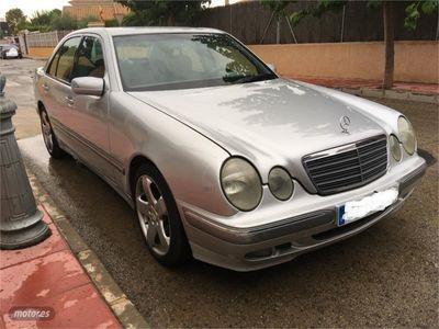 usado Mercedes E270 Clase ECDI ELEGANCE