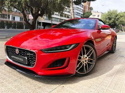 usado Jaguar F-Type F-typeConvertible 2.0 I4 R-dynamic Aut. 300 300 cv en Barcelona