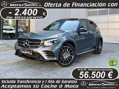 usado Mercedes GLC350 d 4Matic Aut.