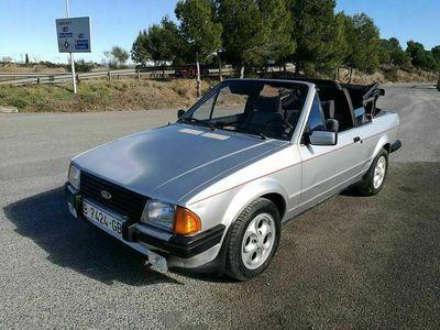 usado Ford Escort Cabriolet 1.6i NO RESERVE 1983