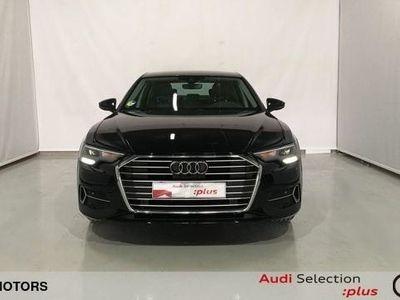 usado Audi A6 sport 40 TDI 150 kW (204 CV) S tronic Diésel Azul matriculado el 02/2019