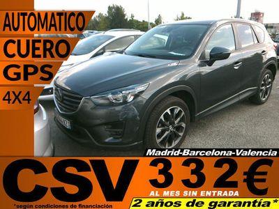 usado Mazda CX-5 2.2 DE 4WD Aut. Lux.+P.+T.+SR 129kW (175CV)