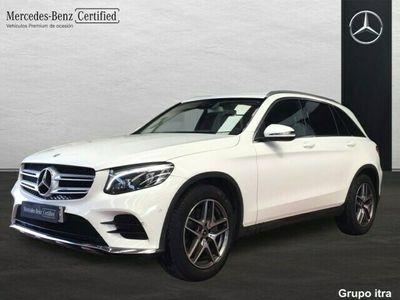 usado Mercedes GLC250 4Matic AMG Line (EURO 6d-TEMP)