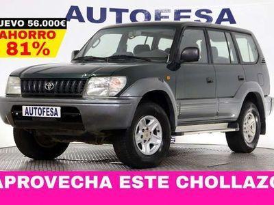 usado Toyota Land Cruiser Land Cruiser3.0 TD VX 125cv 4X4 7 Plazas 5p # BOLA REMOLQUE
