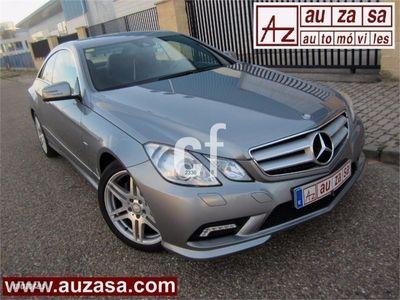 """usado Mercedes E220 Coupé CDI 170 BlueEff AUT 7G-Tronic """" PACK AMG """""""