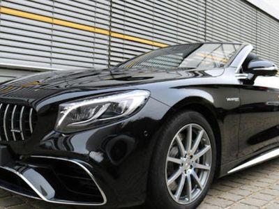 usado Mercedes S63 AMG Cabrio 4Matic DISTRONIC PLUS BURMESTER