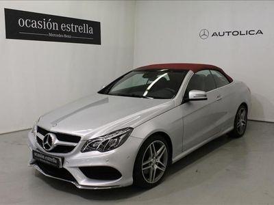 usado Mercedes 350 Clase E CABRIOBLUETEC 7G PLUS