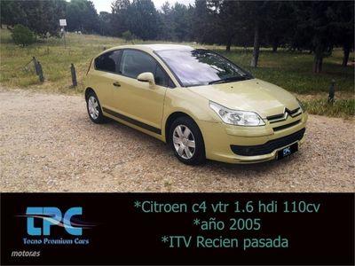used Citroën C4 1.6 HDi 110 VTR