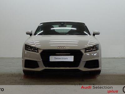 usado Audi TT Coupe 2.0 TDI 135 kW (184 CV) Diésel Blanco matriculado el 03/2015