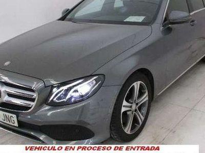 usado Mercedes E220 9G-Tronic 194cv MUCHOS EXTRAS-NACIONAL