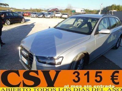 usado Audi A4 AVANT 2.0TDI 143CV *315€/MES SIN ENTRADA*