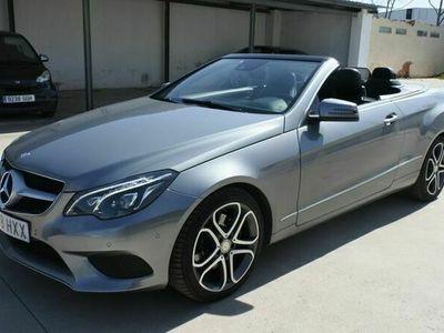 usado Mercedes 350 Clase E CabrioAut.