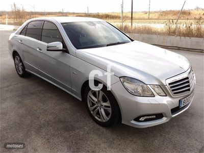 usado Mercedes E250 Clase ECDI Blue Efficiency Avantgarde