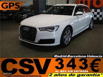 gebraucht Audi A6 TDI 150CV **GPS, 377€/MES**