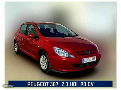 usado Peugeot 307 2.0 HDi 90 XR
