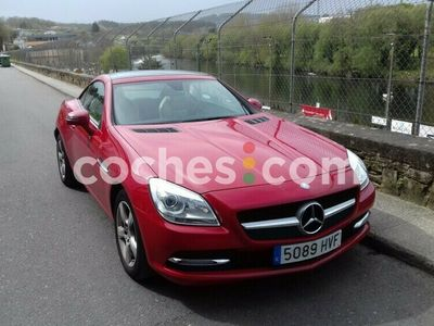 usado Mercedes SLK250 Clase SlkCdi Be Amg Line 7g Plus 204 cv en Lugo