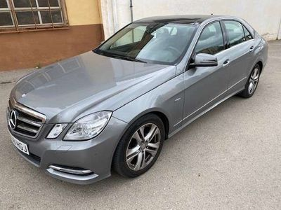 usado Mercedes E220 CDI BE Avantgarde 7G Plus