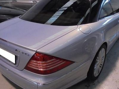 usado Mercedes CL500 306CV año 2001 140000 KM en buen estado