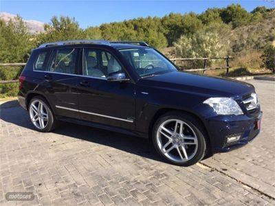 usado Mercedes GLK250 GLKCDI 4M Blue Efficiency