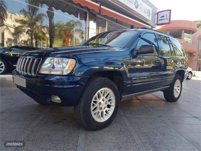 used Jeep Grand Cherokee 2.7 CRD Limited