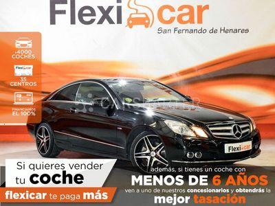 usado Mercedes E220 E 220 CoupéCDI Blue Efficiency Avantg. 2p
