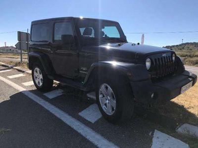 usado Jeep Wrangler 2.8CRD Sahara Aut.