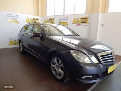 gebraucht Mercedes E220 Clase ECDI BE Avantgarde Estate