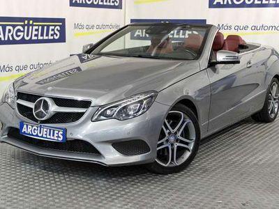 usado Mercedes E350 BlueTEC Cabrio 252cv AUT