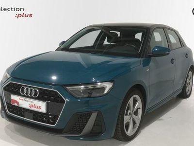 usado Audi A1 Sportback S line 30 TFSI 85 kW (116 CV) Gasolina Verde matriculado el 05/2019