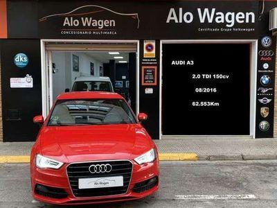usado Audi A3 2.0TDI CD S line edition 150