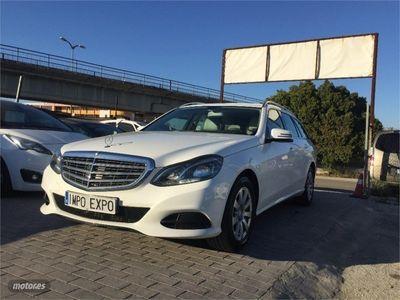 brugt Mercedes E200 Clase ECDI Estate