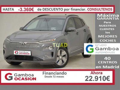 usado Hyundai Kona Eléctrico EV 5P 100kW Tecno Aut.