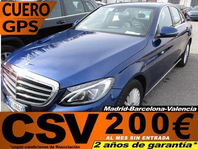 usado Mercedes C220 d Exclusive 125 kW (170 CV)