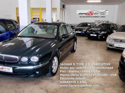 usado Jaguar X-type 2.0D Executive Piel Bluetooth excelente estado.