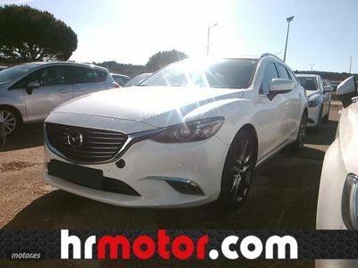 usado Mazda 6 M6 W. 2.2DE Lux.+Prem.White+Travel+SR(Navi)Aut. 12