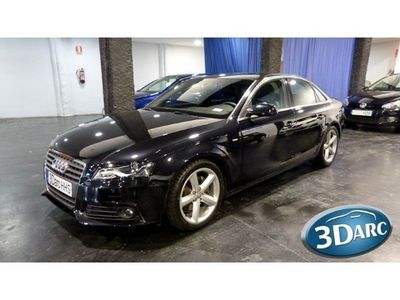 usado Audi A4 2.0TDI 136cv S-LINE#XENON/LEDS/NACIONAL/LIBRO REV#