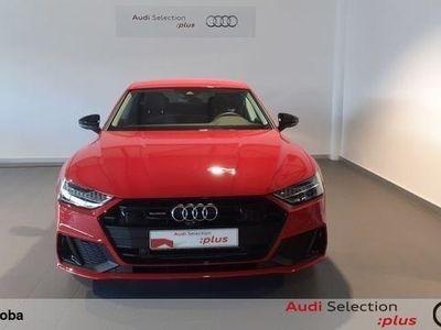 usado Audi A7 Sportback 55 TFSIe quattro-ultra S tronic 270 kW (367 CV) Híbrido Electro/Gasolina Rojo matriculado el 01/2020
