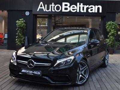 usado Mercedes C63 AMG AMG Estate - HEAD UP - TECHO - BURMESTER