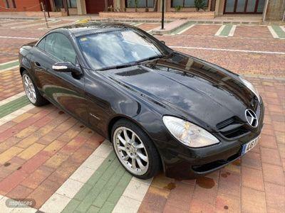 usado Mercedes SLK200 AUTOMATICO AMG LLANTAS TURBINA IMPECABLE !!