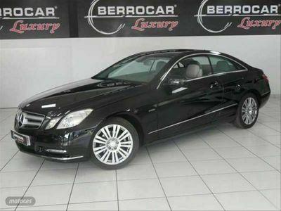 usado Mercedes E220 Clase E CoupeCDI Blue Efficiency Elegance