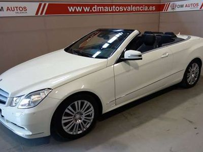 usado Mercedes E220 CDI Cabrio BE 7G Plus