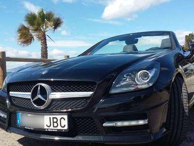 usado Mercedes SLK200 AMG 7G BlueEfficiency COMAND Online DVD-CD-USB-MP3