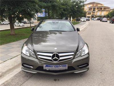 usado Mercedes E250 Cabrio CDI BE 7G Plus POCOS KILOMETROS