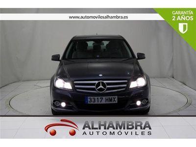 usado Mercedes C200 C 200 CLASECDI BLUE EFFIC. AVANTGARDE 4P
